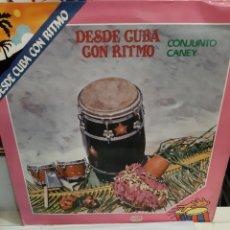 Discos de vinilo: 1985 DESDE CUBA CON RITMO AREITO FONOMUSIC. Lote 196195256
