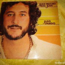 Discos de vinilo: JUAN PARDO. JUAN, MUCHO MAS JUAN. MH, 1981. EDC. ARGENTINA. PROMOCIONAL. IMPECABLE (#). Lote 196203480