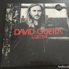 Discos de vinilo: DAVID GUETTA - LISTEN . Lote 196206183