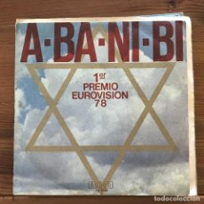 Discos de vinilo: M. LEVINE / KAMEL OIL COMPANY BAND - A-BA-NI-BI / FLOR DE TRIGO - SINGLE RCA SPAIN 1978. Lote 196210551