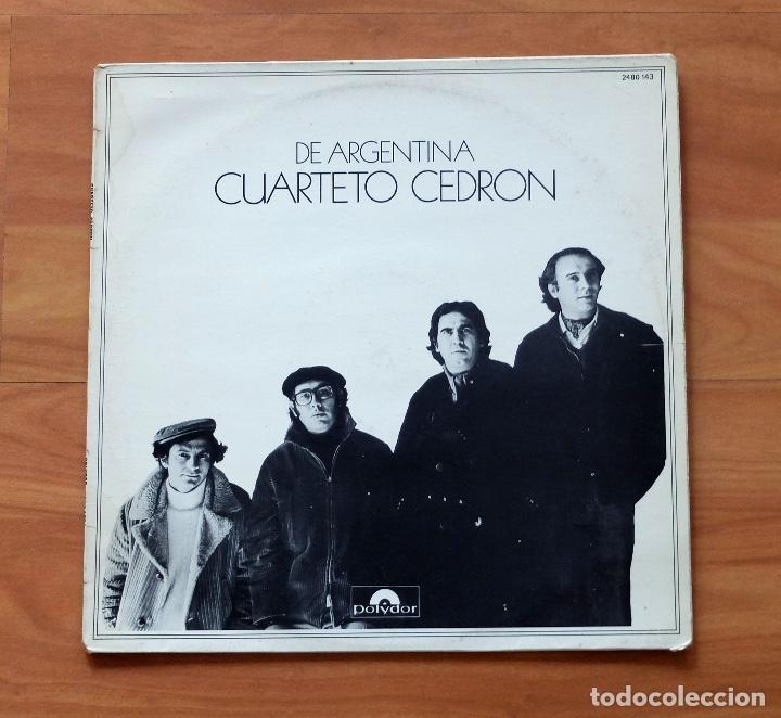 CUARTETO CEDRÓN : DE ARGENTINA- DISCOS POLYDOR (Música - Discos de Vinilo - Maxi Singles - Grupos y Solistas de latinoamérica)