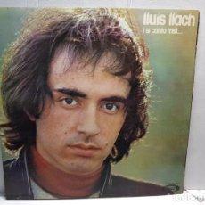 Discos de vinilo: LP-LLUIS LLACH-I SI CANTO TRIST... EN FUNDA ORIGINAL AÑO 1974. Lote 196223825