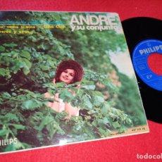 Discos de vinilo: ANDRE Y SU CONJUNTO LLORANDO EN LA CAPILLA/YESTERDAY/DIO,COMO TI AMO/+2 7'' EP 1966 PHILIPS BEATLES. Lote 196225117