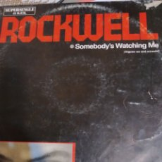 Discos de vinilo: MICHAEL JACKSON. ROCKWELL. MAXI. Lote 196230358