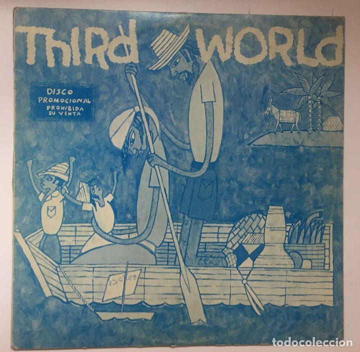 Discos de vinilo: THIRD WORLD: Maxi single promocional. ARIOLA, 1978 ¡COLECCIONISTA! - Foto 3 - 196233296