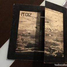 Discos de vinilo: ITOZ - ITOIZ LP DE SELLO XOXOA EDICION ESPAÑOL DEL AÑO 1978 INCLUYE ENCARTE. Lote 196242668
