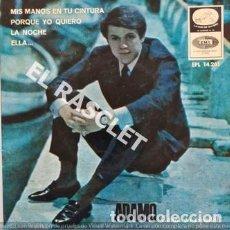 Discos de vinilo: SINGLE DE A D A M O - MIS MANOS EN TU CINTURA -. Lote 196242912