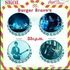 Dischi in vinile: CHAPA DISCOS (SKOL-BURGER BRAVO'S) VARIO (EP PROMO 1979). Lote 196252870