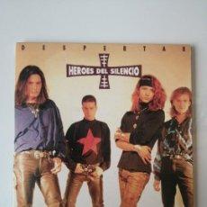 Discos de vinilo: SINGLE HEROES DEL SILENCIO DESPERTAR 2007. Lote 196256457