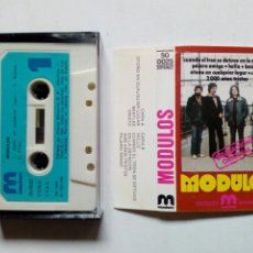 Discos de vinilo: CASSETTE: MODULOS (DISCOS MERCURIO, 1980) - HARD PROG ROCK CON JOSÉ LUIS CAMPUZANO (BARÓN ROJO). Lote 196246888