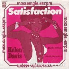 Discos de vinilo: HELEN DAVIS SATISFACTION -YESTERDAY A KING - MAXI SINGLE SPAIN 1978 EDICION LIMITADA. Lote 196263147