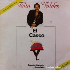 Discos de vinilo: TITO VALDES - EL CASCO / EL GATO QUE ESTÁ TRISTE Y AZUL - MAXI-SINGLE SPAIN 1990. Lote 196263953