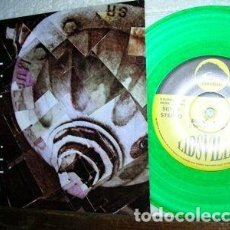 Discos de vinilo: LIDSVILLE - FLESH GARDEN / GRUNGE !! SINGLE 45 ORG USA, GREEN VINYL !! IMPECABLE. Lote 196272143