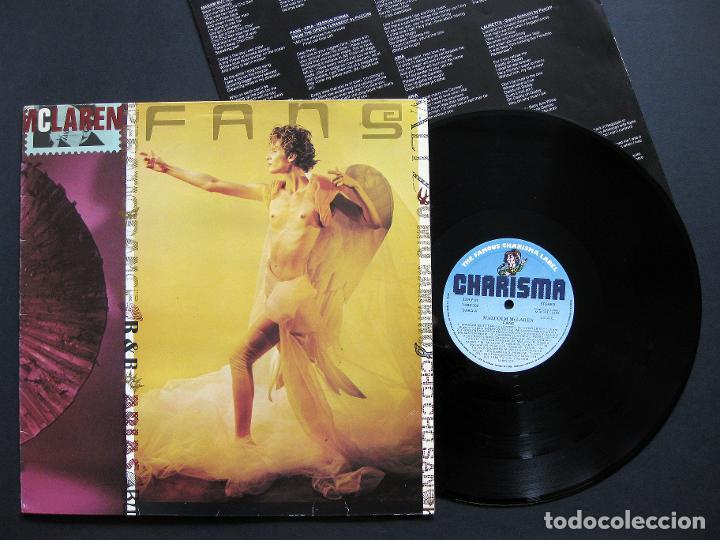MALCOLM MCLAREN – FANS – VINILO 1984 (Música - Discos - LP Vinilo - Pop - Rock - New Wave Extranjero de los 80)