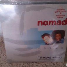 Discos de vinilo: NOMAD LP CHANGING CABINS ED UK ORIGINAL CON ENCARTE DANCE VG+. Lote 196283700