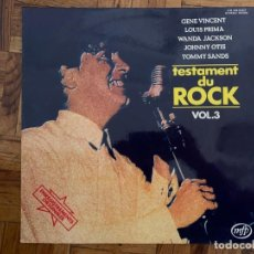 Discos de vinilo: TESTAMENT DU ROCK VOL. 3 LABEL: MUSIC FOR PLEASURE – 2M 046-82.227, MUSIC FOR PLEASURE – 2 M 046 8. Lote 196284227
