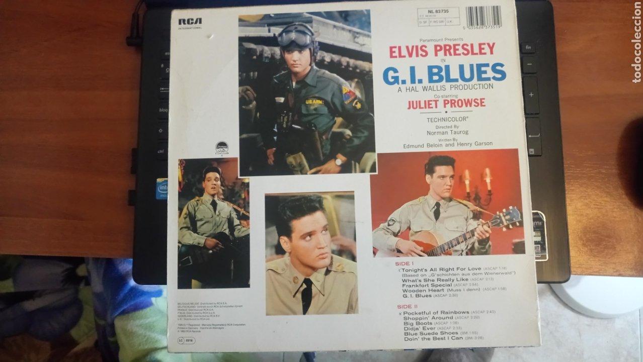 Discos de vinilo: Elvis Presley Lp G. I. BLUES - Foto 2 - 196272225