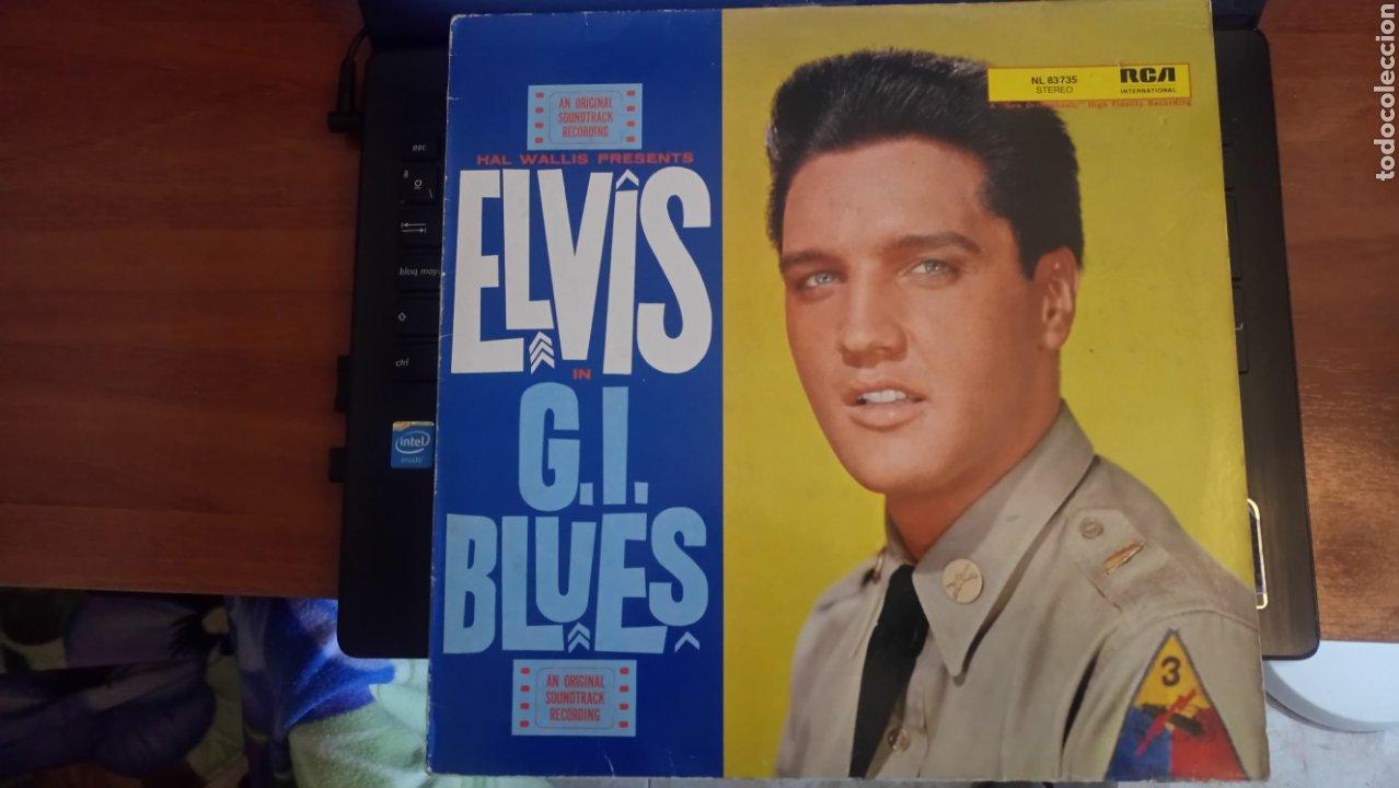 ELVIS PRESLEY LP G. I. BLUES (Música - Discos - LP Vinilo - Bandas Sonoras y Música de Actores )