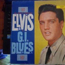 Discos de vinilo: ELVIS PRESLEY LP G. I. BLUES. Lote 196272225