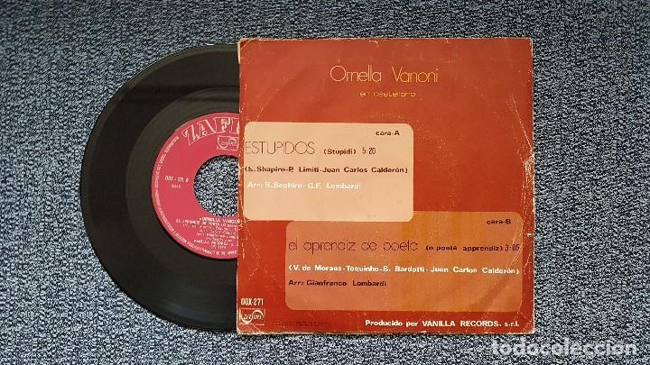 Discos de vinilo: Ornella Vanoni - Estupidos / El aprendiz de poeta. editado por Zafiro. año 1.974 - Foto 2 - 196293388