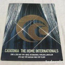 Discos de vinilo: CATATONIA / PROGRAMA OFICIAL THE HOME INTERNATIONAL`99 !!! NUEVO !!!!!!!!!. Lote 34743356