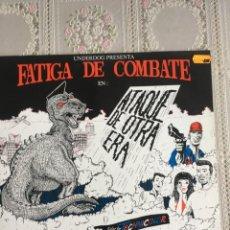Discos de vinilo: FATIGA DE COMBATE EN: ATAQUE DE OTRA ERA. UNDERDOG RECORDS. PUNK PSYCHOBILLY. DIFICIL. IMPECABLE. Lote 196295797