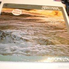 Discos de vinil: LP DOBLE 2 DISCOS CARLOS SANTANA. MOONFLOWER. CBS 1977 SPAIN CARPETA DOBLE (PROBADO Y BIEN). Lote 196296342