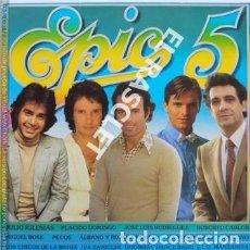 Discos de vinilo: MAGNIFICO LP - EPIC 5 . Lote 196296686