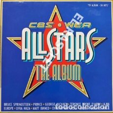 Discos de vinilo: MAGNIFICO DOBLE LP -ALLSTARS THE ALBUM - CBS. WEA. Lote 196297160
