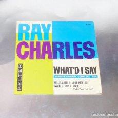 Discos de vinilo: RAY CHARLES --WHA´T DI SAY ----VERSION ORIGINAL COMPLETA - 5´04 AÑO 1963 ***COL*** ( VG +++ ). Lote 196297952