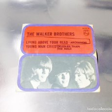 Discos de vinilo: THE WALKERS BROTHERS -- LIVING ABOVE YOUR HEAD & ARCHANGEL + 2 PHILIPS 434 577 BE -AÑO 1967-- ( VG+). Lote 196298298