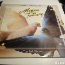 Discos de vinilo: LP MODERN TALKING. READY FOR ROMANCE. ARIOLA 1985 SPAIN (PROBADO Y BIEN). Lote 196299481