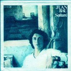 Disques de vinyle: JUAN BAU (SOLO CARATULA). Lote 196330536
