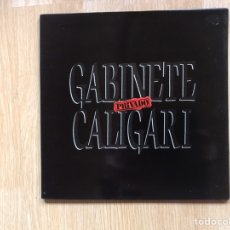 Discos de vinilo: GABINETE CALIGARI. PRIVADO. Lote 196331362