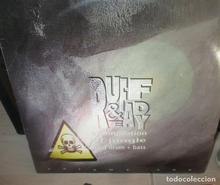 VARIOUS ?– RUFF & READY VOL. 1 - TRIPLE MAXI - DRUM AND BASS -JUNGLE- 1995 - MUY RARO (Música - Discos - LP Vinilo - Techno, Trance y House)