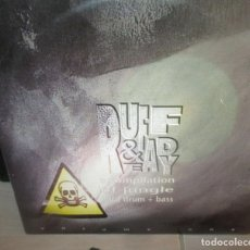 Discos de vinilo: VARIOUS ?– RUFF & READY VOL. 1 - TRIPLE MAXI - DRUM AND BASS -JUNGLE- 1995 - MUY RARO. Lote 196331731