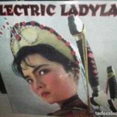 Discos de vinilo: ELECTRIC LADYLAND - RECOPILACIÓN TECHNO-AMBIENT-TRIPO HOP-1995 -MAXI DOBLE. Lote 196331917