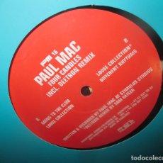 Discos de vinilo: PAUL MAC - FOUR CANDLES - MAXI 2000. Lote 196332107