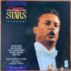 Discos de vinilo: ALFREDO KRAUS // MAXI PROMOCIONAL // OPERA STARS IN CONCERT // MINT. Lote 196347678