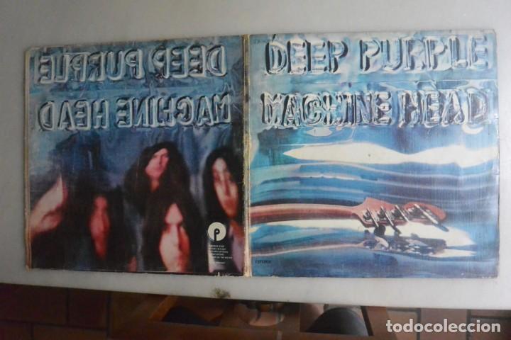 DISCO DOBLE LP DEEP PURPLE MACHINE HEAD. 1972 (Música - Discos de Vinilo - EPs - Heavy - Metal)