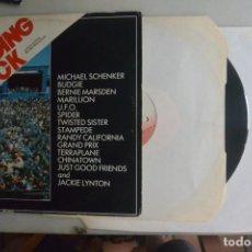 Discos de vinilo: DISCO LP DOBLE READING ROCK, MEAN RECORD 1982. Lote 196355563
