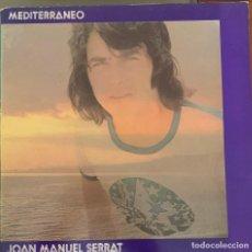 Discos de vinilo: JOAN MANUEL SERRAT – MEDITERRÁNEO. DISCO VINILO. ENTREGA 24H.. Lote 196360081