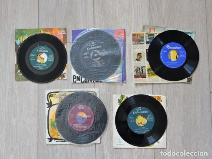 Discos de vinilo: 5 VINILOS SINGLES - CUENTOS INFANTILES - Foto 3 - 196361961