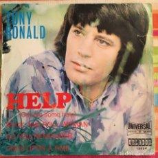 Discos de vinilo: TONY RONALD HELP EP ORLADOR BUFFALO SPRINGFIELD ROCK AND ROLL WOMAN. Lote 196362255