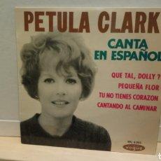 Discos de vinilo: PETULA CLARK–PETULA CLARK CANTA EN ESPAÑOL . EP 1964. BUEN ESTADO. Lote 196369608