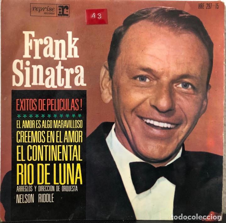 FRANK SINATRA, EP ÉXITOS DE PELICULAS (Música - Discos - Singles Vinilo - Bandas Sonoras y Actores)