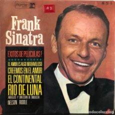 Discos de vinilo: FRANK SINATRA, EP ÉXITOS DE PELICULAS. Lote 196372827