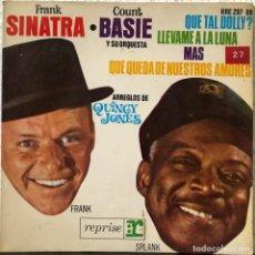 Discos de vinilo: FRANK SINATRA & COUNT BASIE Y ORQUESTA EP 45 RPM. Lote 196374247