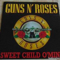 Discos de vinilo: GUNS N' ROSES – SWEET CHILD O' MINE - SINGLE PROMO 1989. Lote 196375773