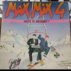 Disques de vinyle: LP - MAX MUSIC 1986 - MAX MIX 4 - HAZTE TU MEGAMIX - CAJA CON 2 LP'S. Lote 196378173